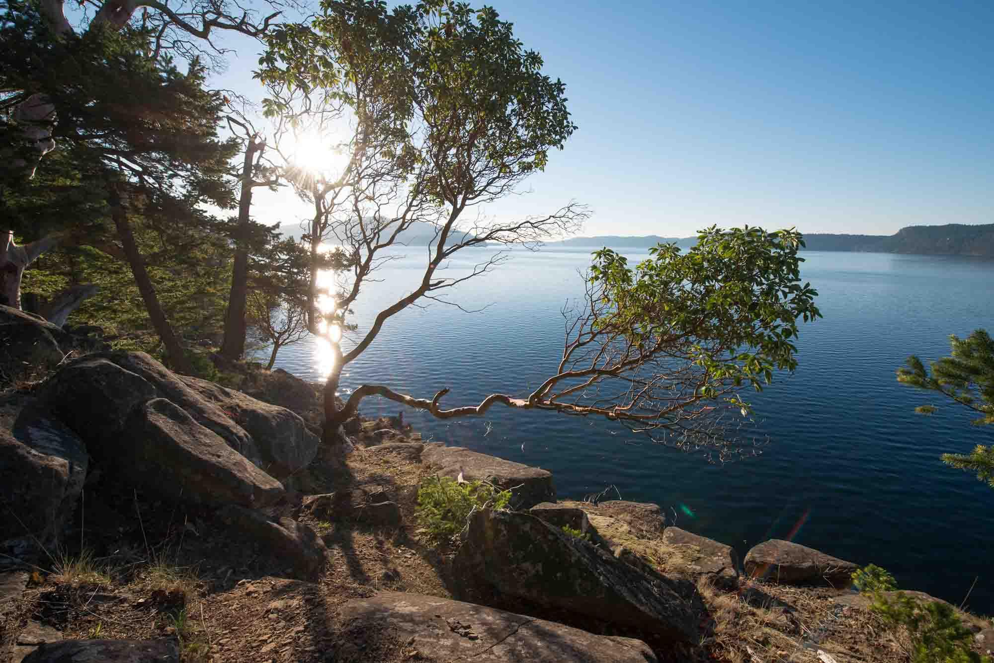 Mt Parke Mayne Island