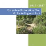 Mt. Parke Ecosystem Restoration Plan cover